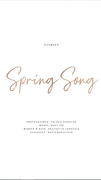 Spring song -